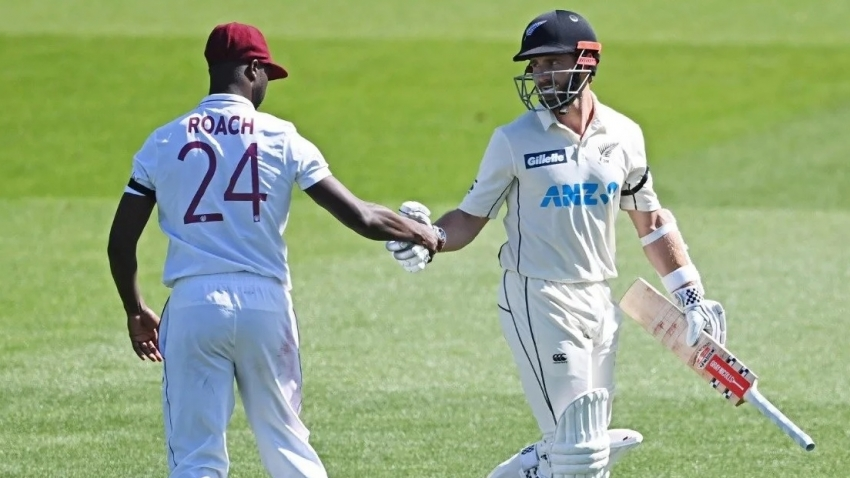 Windies 49 for w/o loss after Williamson masterclass 251 sees New Zealand declare at 519 for 7