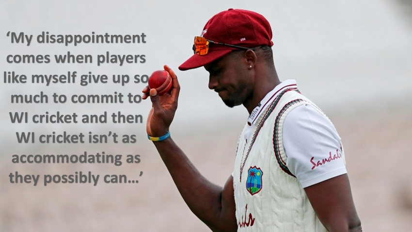 'I've been very disappointed in how things were handled' - former skipper Holder bemoans lack of reward for commitment from WI cricket