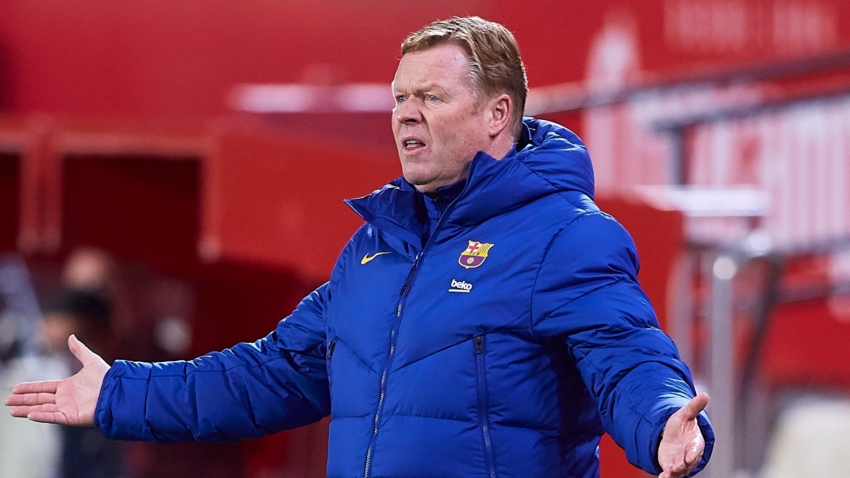 Barca have to be realistic about LaLiga title chances – Koeman