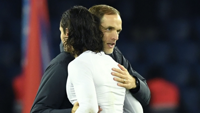 Tuchel: Cavani one of the top number nines in world football