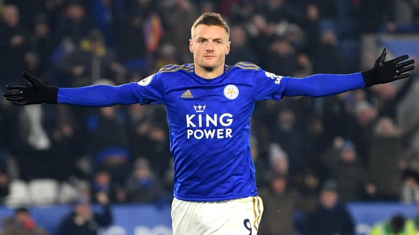 Vardy scores 100th Premier League goal