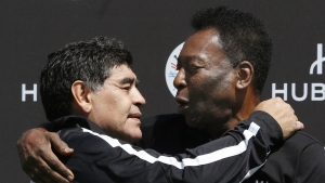 I love you, Diego - Pele attacks comparison culture after Maradona death