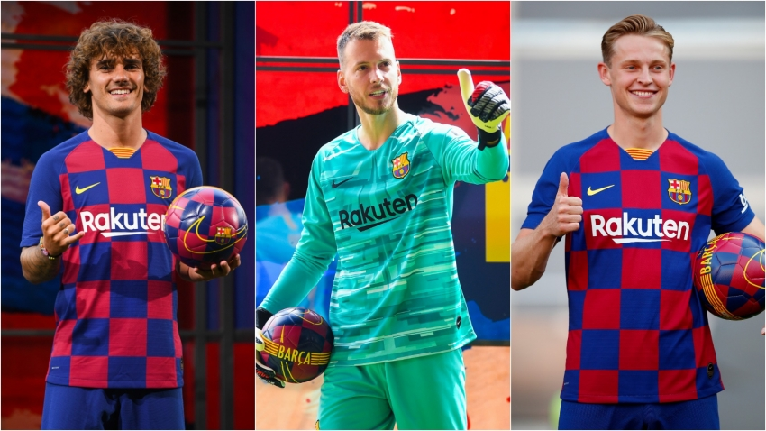Valverde has high expectations for €224m trio De Jong, Griezmann and Neto at Barcelona