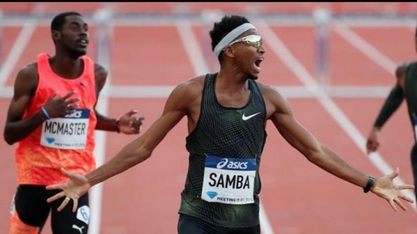 Samba bringing welcome heat to 400m hurdles - McMaster