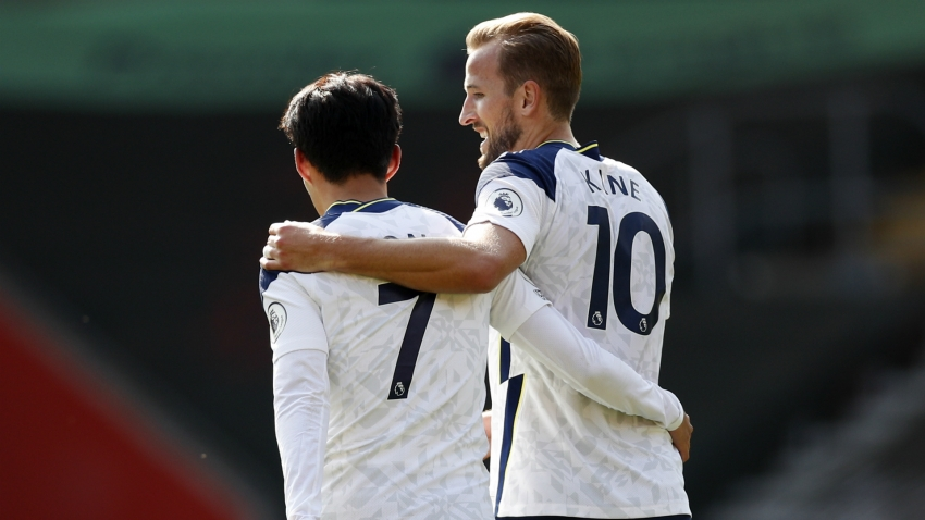 'Buzzing' Son thanks Kane after four-goal heroics