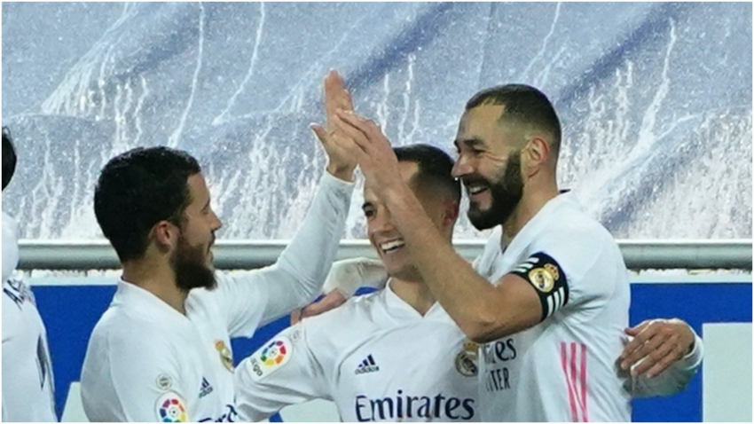 Deportivo Alaves 1-4 Real Madrid: Benzema and Hazard get Los Blancos back on track
