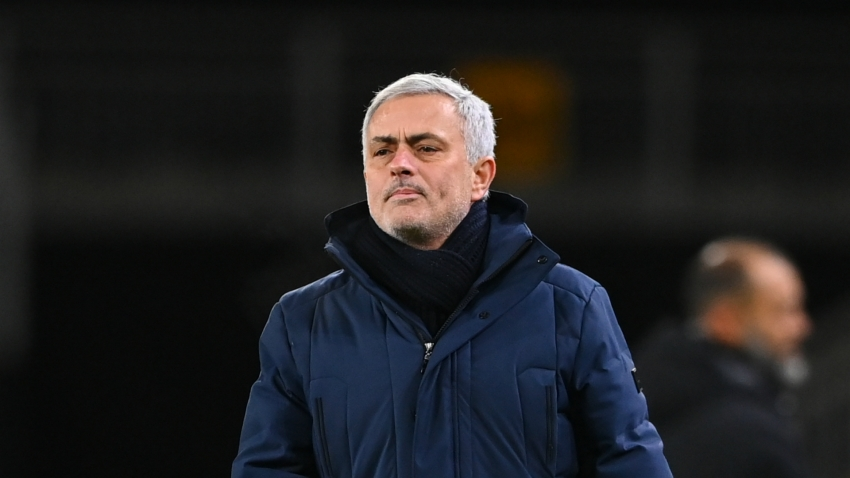 Tottenham's top-four hopes do not rest on Everton clash, insists Mourinho