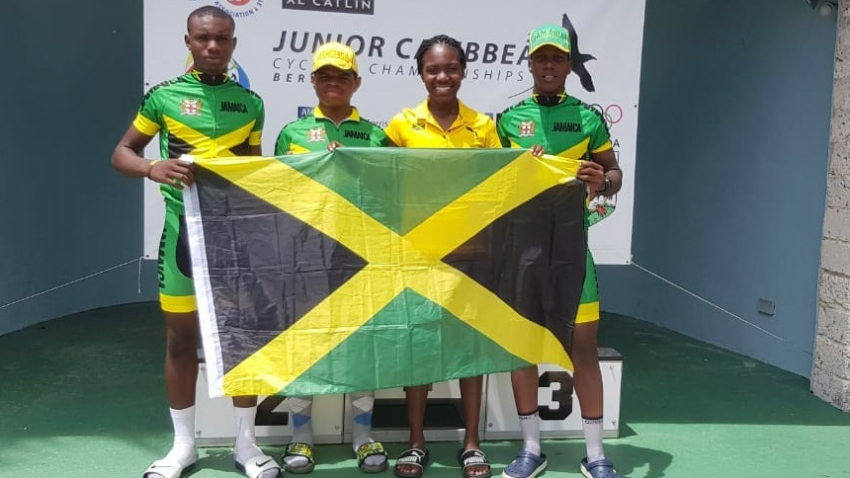 Jamaica's Lori Sharpe makes history at Caribbean Junior Cycling Championships