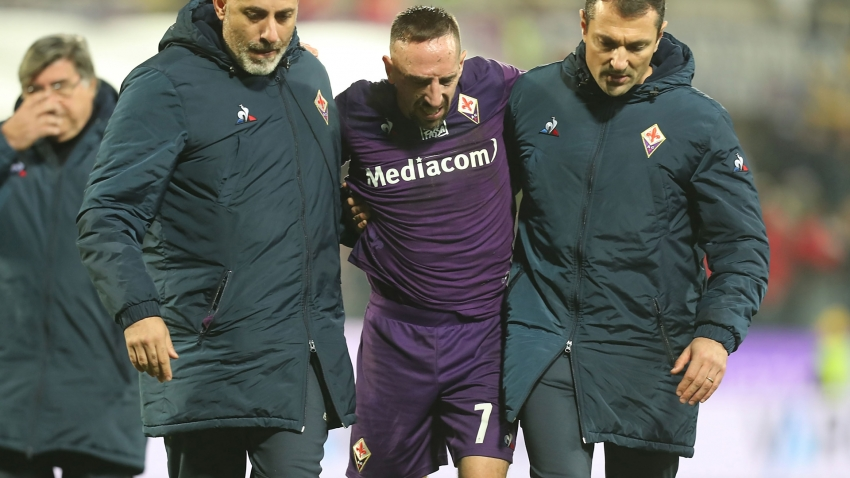 Ribery set to miss 10 weeks after ankle surgery