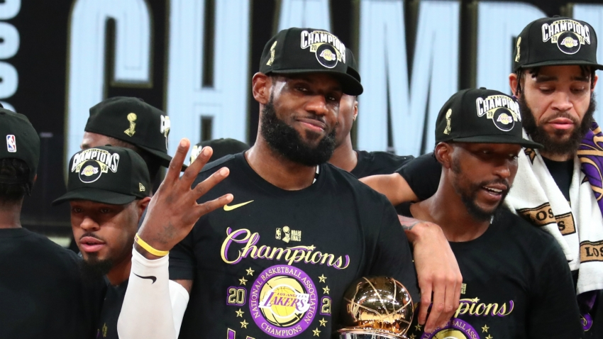 LeBron's greatness exemplified by winning with three different teams, says Joel Anthony