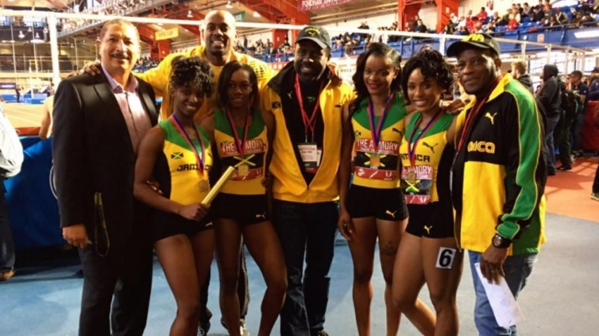 Jamaica takes on USA, Guyana, in 4x200m relays at the Amory, January 26