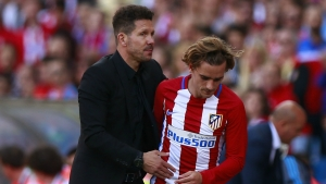Simeone grateful for Griezmann's 'faultless' Atletico stint
