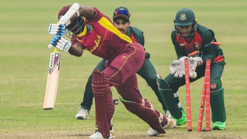 Windies suffer six-wicket loss in ODI opener against Bangladesh in Dhaka