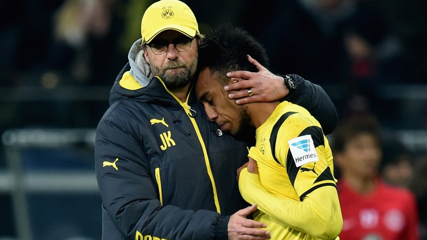 Klopp wary of Arsenal 'goal machine' Aubameyang