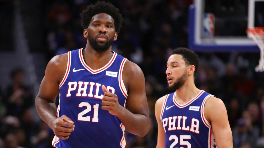 Embiid and Simmons can click like LeBron and Davis, says 76ers' Howard