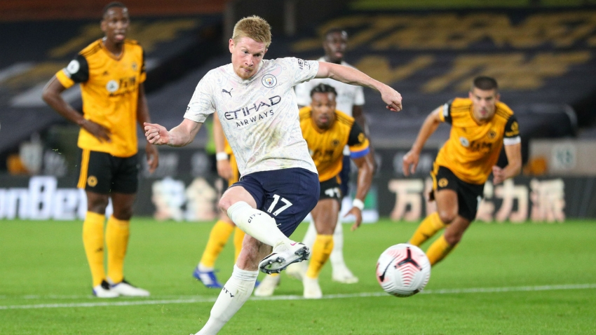 'Incredible' De Bruyne the perfect cure for Pep's patched-up City