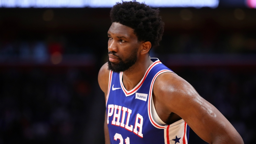 Sixers star Embiid sits out Knicks clash with shoulder problem