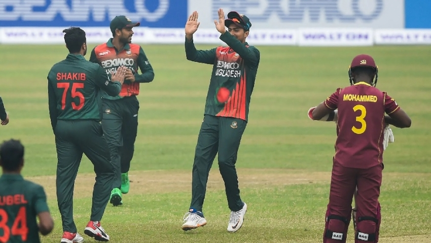 West Indies lose again as Bangladesh win series 2-0