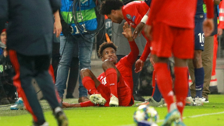 Bayern confirm knee damage for Coman