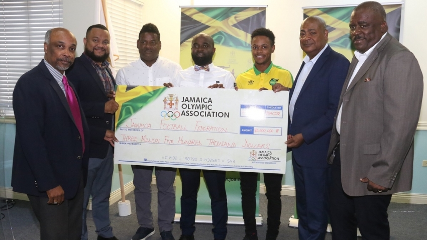 Jamaica Olympic Association covers salaries for OIympic football coaches