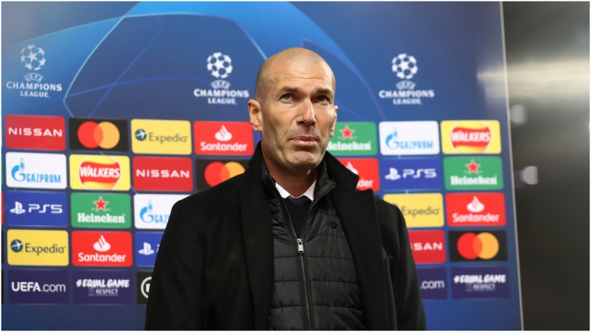 Zidane 'not a disaster' as a coach and has no contract concerns