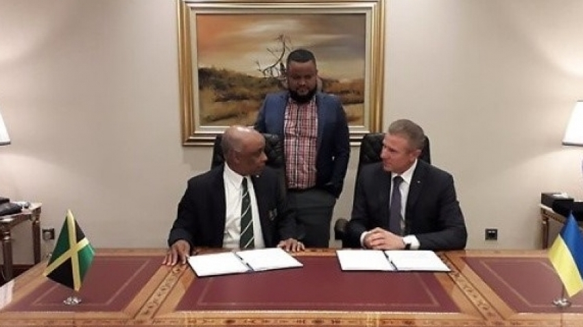 Jamaica Olympic Association signs historic MOU with Ukraine