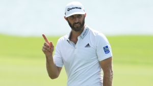Johnson holds halfway lead at Tour Championship, McIlroy five back