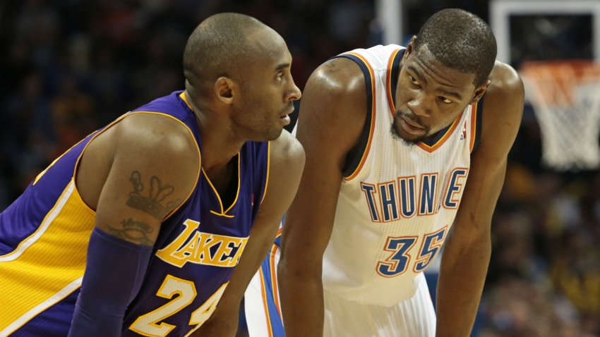 Kobe Bryant dead: Nothing will be big enough to honour Lakers great, says Kevin Durant