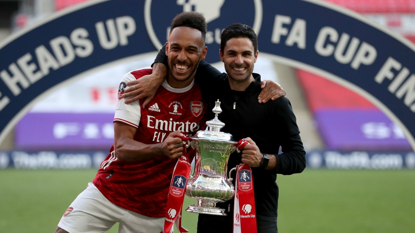 Arteta was worried Aubameyang might leave Arsenal