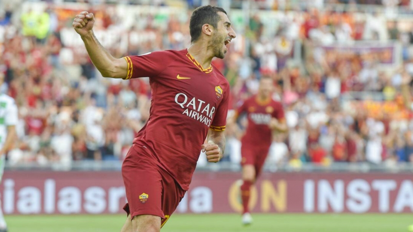 Dzeko hopes Mkhitaryan stays at Roma after goalscoring debut