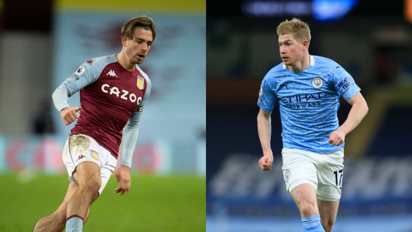 De Bruyne v Grealish: Creative kings set to take centre stage in Man City v Aston Villa