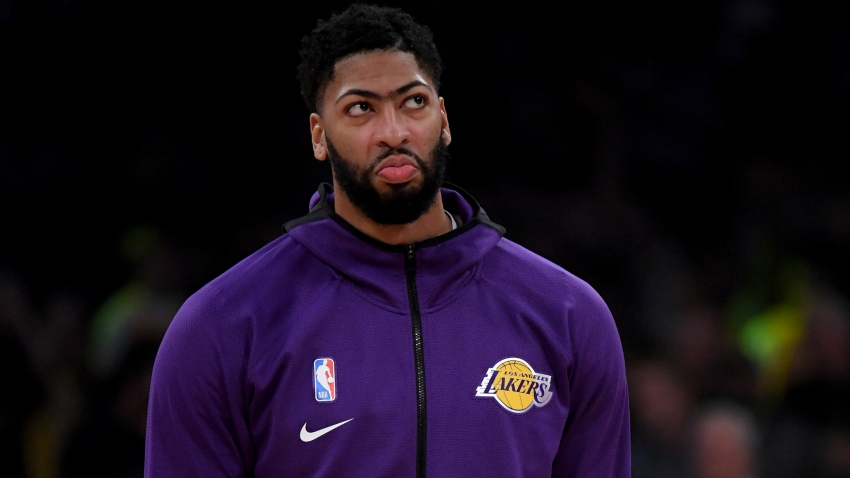 Lakers star Davis ruled out of Warriors showdown