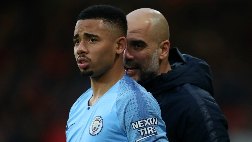 Guardiola urges Jesus to be Manchester derby hero