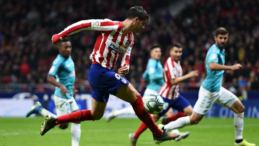 Simeone hopeful Morata is back on the goal trail for Atletico