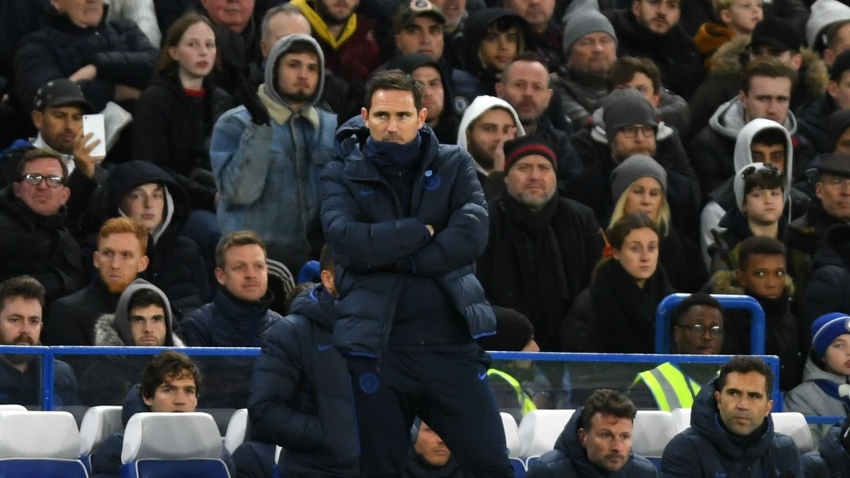 Frustrated Frank Lampard says Chelsea season 'starts here' after controversial Man Utd defeat