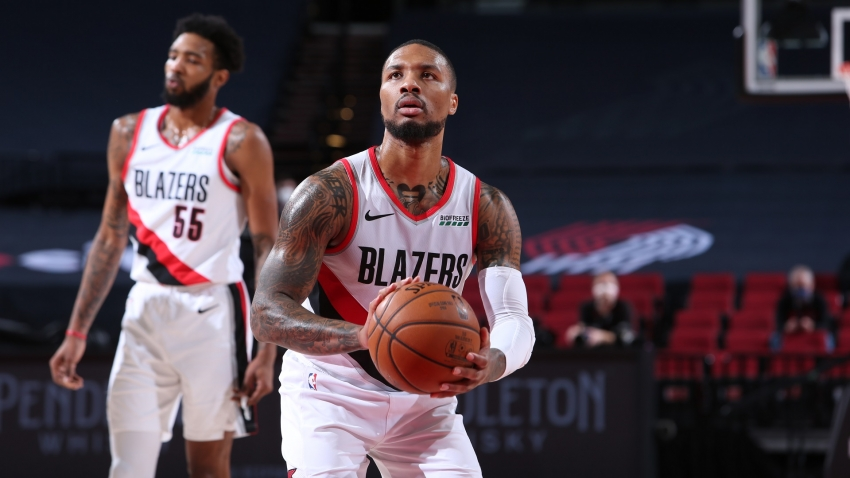 Lillard scores 44 points in Trail Blazers win, Giannis guides Bucks to thrilling victory