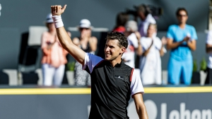 Thiem edges closer to first Generali Open title as Ruud marches on