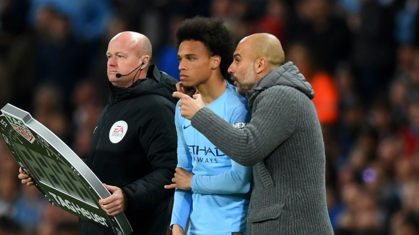 Guardiola: Sane can fulfil his potential with Man City