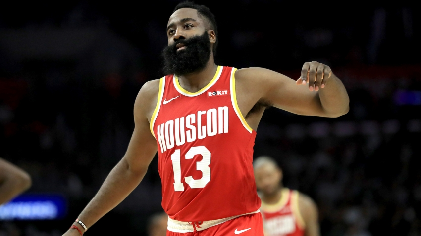 Harden's 54 points lead Rockets, Bucks win 17th straight