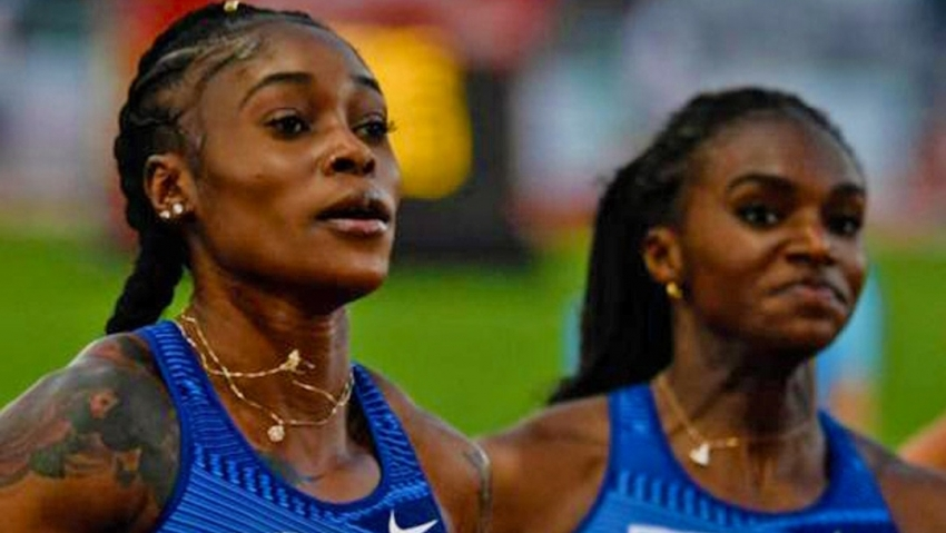 Elaine Thompson 'back in shape' with world-leading 10.89 in Rome