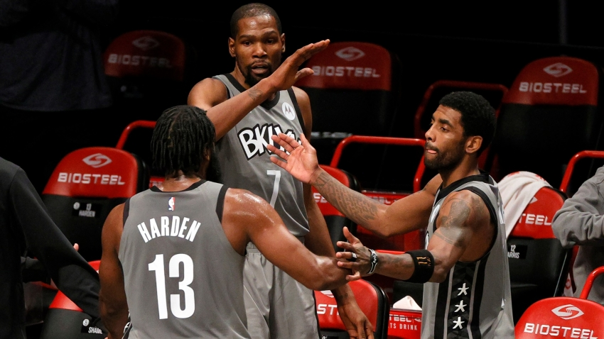 Harden: Best is yet to come for star-studded Nets