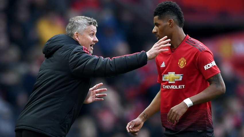Rashford insists Solskjaer is perfect for Man United despite Pochettino talk