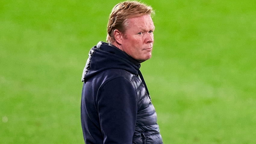 Koeman cannot avoid Barcelona presidency talk as he attempts to focus players