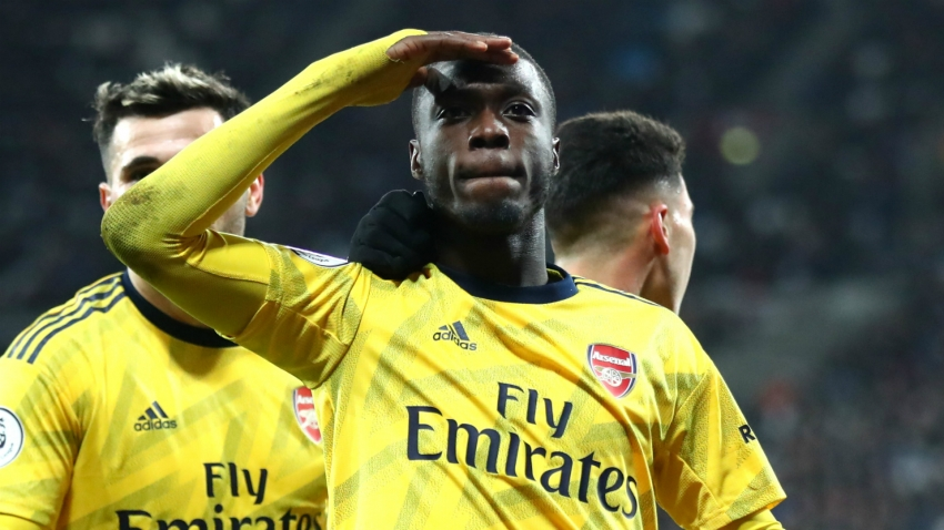 Ljungberg 'so pleased' as Pepe helps Arsenal to sink West Ham