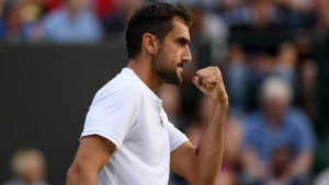 Cilic advances as Tsonga upsets Khachanov