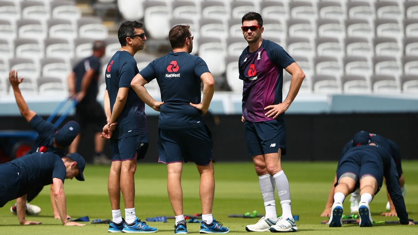 England's Anderson ruled out of Ireland Test