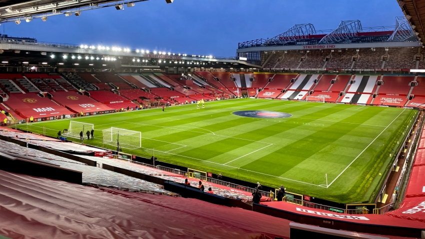 Man Utd open Old Trafford for coronavirus vaccination training