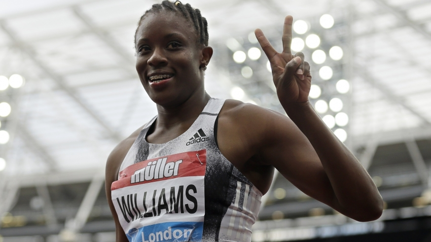 Danielle Williams runs national record and world-leading 12.32 in London