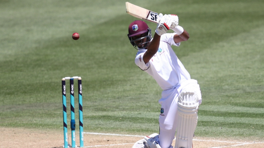 Chase leads West Indies recovery in Hyderabad