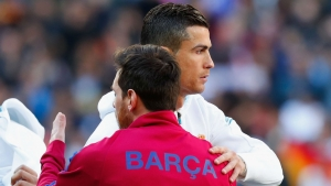 Messi: Ronaldo rivalry only on the pitch